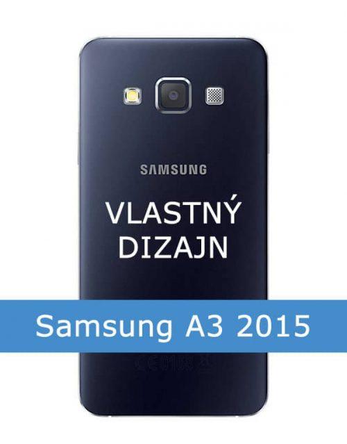 Kryt s fotkou na Samsung Galaxy A3 2015